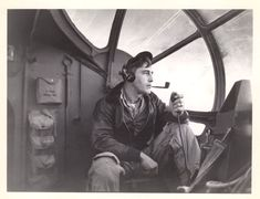 a US Navy PBY Observer at work