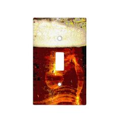 Beer and Foam Switch Plate Covers