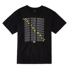 Vans Boys Crew Neck Short Sleeve Graphic T-Shirt DAP , This t-shirt is Made To Order, one by one printed so we can control the quality. Boys T Shirts, Cool Shirts, T Shirts With Sayings, Shirt Print Design, Tee Design, T Shirt Graphic Design, Design Lab, Custom T Shirt Printing, Custom Shirts