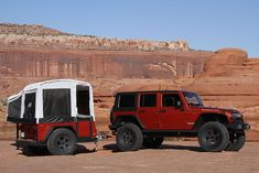 Jeep Mopar Camper.