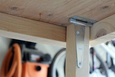 Turtles and Tails: Fold-up Garage Worktable