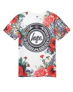 Hype. Border Floral T Shirt