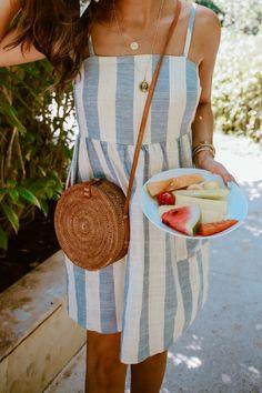 Summer fashion outfit for women. Emily Gemma #EmilyGemma #fashion #Instagram