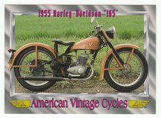 "American Vintage Cycles Series I # 23 1955 Harley-Davidson ""165"" - Champ 1992"