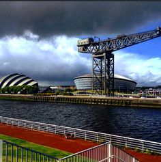Glasgow. SECC and SSE Hydro. May 2015