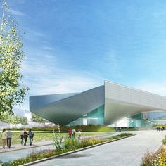 Diller Scofidio + Renfro has unveiled a preliminary design for a new museum in Colorado Springs dedicated to the legacy of US Olympians and Paralympians