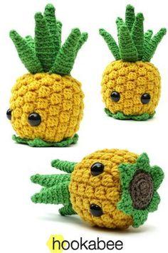 Bill the Pineapple amigurumi pattern by @hookabee