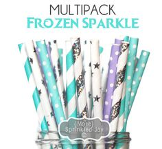 FROZEN SPARKLE Multipack Frozen Themed Party by MoreSprinkledJoy