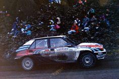 Juha Kankkunen on the Corris stage of the 1991 RAC Rally