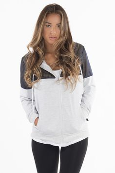 ilabb Grey Exceedingly Hoodie #Tomboy Outfitters #activewear #workout