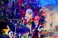 Prince, 2016: Digital painting/photo collage, 60 x 40 cm. Follow the link to buy the hand signed original/unika or print in variable sizes on paper or canvas. http://www.saatchiart.com/art/Painting-PRINCE/863412/2940441/view