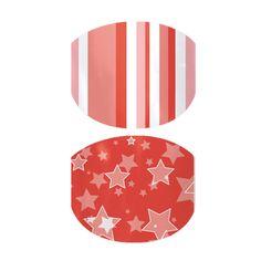 Starburst Stripe  nail wraps by Jamberry Nails http://www.lauralogsdon.jamberrynails.net/product/starburst-stripe#.U7SASlAo7qA