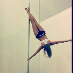 To Pole this move! Pole Fitness Moves, Pole Dance Moves, Pole Dancing Fitness, Dance Poses, Barre Fitness, Fitness Exercises, Aerial Dance, Aerial Yoga, Pole Dance Sport