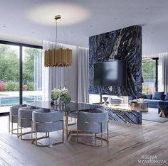 40 Best Contemporary Dining Room Design For Your New Home Genç Odası Luxury Home Decor, Luxury Interior, Luxury Furniture, Rustic Furniture, Modern Furniture, Antique Furniture, Outdoor Furniture, Dark Furniture, Furniture Logo