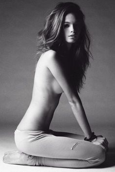 must...join...gym. Ok, so maybe I don't necessarily want to be THIS thin, but this is definitely an inspiration.