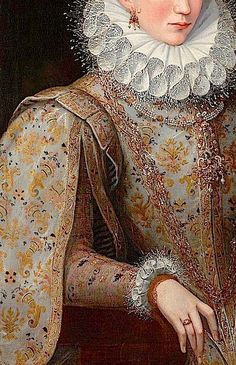 Portrait of a Lady of the Court by Lavinia Fontana, 1590