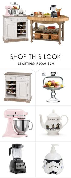 """""""Sin título #437"""" by teresapulido ❤ liked on Polyvore featuring interior, interiors, interior design, home, home decor, interior decorating, The Cellar, KitchenAid, Mrs Moore's Vintage Store and Vitamix"""