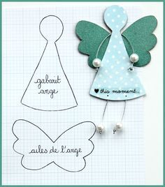 I must make this to fit in a matchbox. Then I will always have an angel with me.: