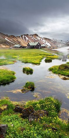 Landmannalaugar, Iceland. Travel ideas.