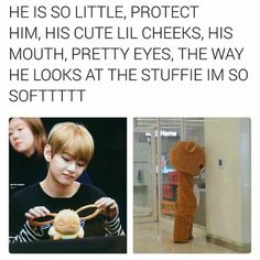 Taehyung needs to be protected at all costs