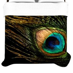 KESS InHouse Peacock Duvet Collection | AllModern
