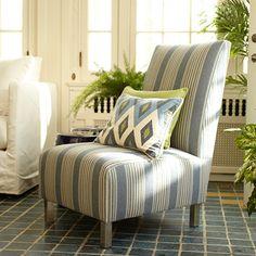 Nantucket Outdoor Blue Chair