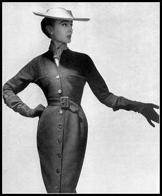 1954 - Jacques Fath dress So beautiful!