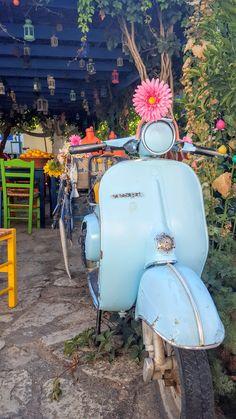 Vespa Scooter, Kos Island, Zia