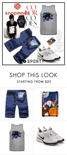 """Snapmade7/5"" by fatimazbanic ❤ liked on Polyvore featuring NIKE, G-Shock, men's fashion and menswear"