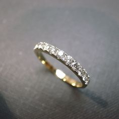 Wedding Anniversary Diamond Band Bridal Ring in by honngaijewelry, $940.00