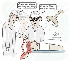 To have brain surgery, or not have brain surgery?    http://www.kimberlyraeauthor.blogspot.com/2011/10/brain-surgery-to-worry-or-not-to-worry.html