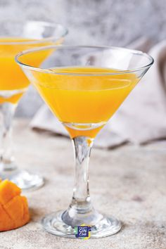 Gin Cocktail Recipes, Easy Cocktails, Summer Cocktails, Craft Gin, Prosecco, Mango, Beverages, Manga, Drinks