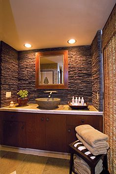 I like this for a guest bathroom.