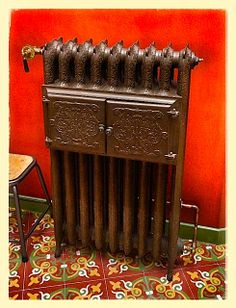 radiateur chauffe plat ancien 1900 radiateurs pinterest. Black Bedroom Furniture Sets. Home Design Ideas