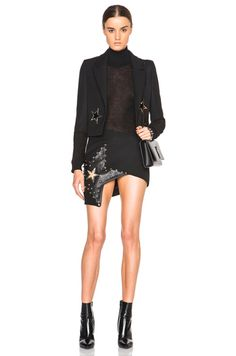 Star Eyelet Tailored Jacket