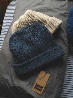 #NorajukuStylist Picks: Beanies look great paired with your favorite winter jacket. #menswear
