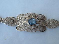 Zilveren filigrain armband  Bonbijou | webshop antieke sieraden