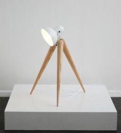 A minimalist table lamp with such a delicate look and unique design