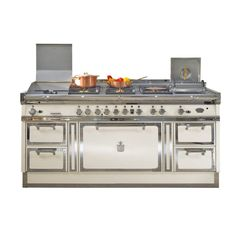 GLEM GAS - Cucina a Gas A664GI 4 Fuochi Gas Forno Gas Classe A ...