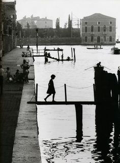Venice, 1959   @ Willy Ronis