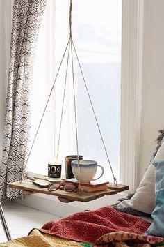 Reclaimed Wood Floating Shelf via Urban Outfitters