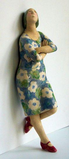 Elizabeth price meestal houd ik niet van figuratieve keramiek. Maar sommige zijn priceless