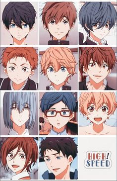 high speed discovered by アビガイルーちゃん ♡ on We Heart It Hot Anime Boy, Cute Anime Guys, Anime Manga, Anime Art, Character Art, Character Design, Tamako Love Story, Splash Free, Free Eternal Summer