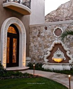 Old World, Mediterranean, Italian, Spanish & Tuscan Homes & Decor Home Decor For US is part of Tuscan house 20182019 Home Decor -