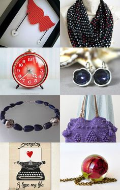 Red and Black... by Nilgun on Etsy--Pinned with TreasuryPin.com