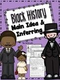 Black History ~ Main Idea & Inferring Mini Passages with G