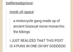 THE MOTHER OF ALL PUNS