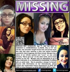 Gonzalez, missing, Illinois, teenager, girl, somebody's daughter
