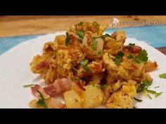 Szalonnás, tojásos krumpli