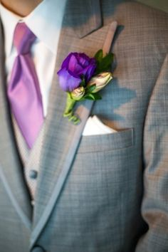 Purple wedding inspiration from Facebook